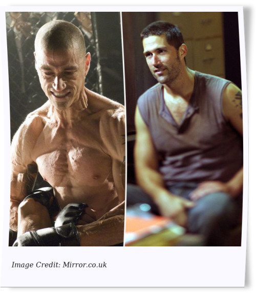 Matthew Fox Celebrity Weight