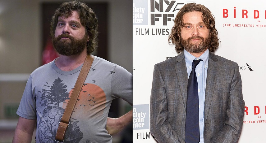 Zach Galfinakis Celebrity Weight Loss