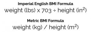 BMI Formula Calculation